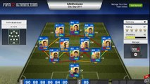 Fifa 12 Ultimate Team - TOTS-Blue Southern Europe Review FT Ibrahimovic, Hazard And Thiago Silva