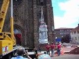 Descida da Imagem de Nossa Senhora da Oliveira da Catedral de Vacaria/RS.