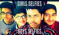 Girls Selfies vs Boys Selfies- Fivebros
