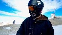 Snowboarding Las Lenas, Argentina