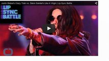 Justin Bieber Impersonates Ozzy Osbourne on 'Lip Sync Battle'