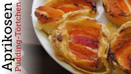 Rezept - Aprikosen-Pudding Törtchen (Red Kitchen - Folge 336)