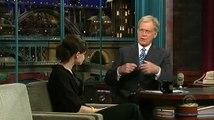 Alexis Bledel on David Letterman (5-25-07)