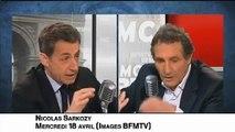 Jean-Jacques Bourdin coince Nicolas Sarkozy sur le nombre de soldats français tués en Afghanistan