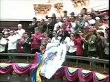 Maduro juró como presidente encargado Esta banda le pertenece a Hugo Chávez