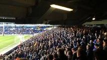 Palace Fans away at Tottenham Hotspurs 2014/15