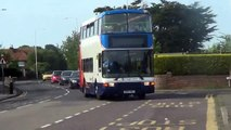 Stagecoach bus route 9 at Broadstairs Bus stop feat the Loop bus, 27th May 2015
