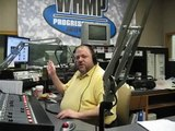 WHMP DJ's discuss Only-in-Amherst Larry Kelley
