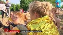 Strasbourg : 15 000 scouts se réfugient dans le Zénith à cause des orages