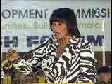 President of the PNP, the Most Honourable Portia Simpson-Miller calls Jamaicans to Action