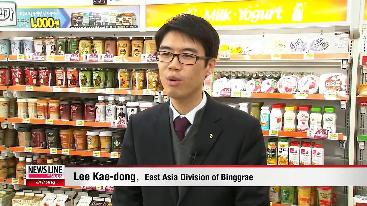 Korean Drinks Capture Intl. Taste Buds 음료시장 부는 '한류' 바람