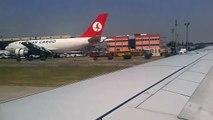 THY Boeing 737-800 from Istanbul Atatürk (LTBA) to Ankara Esenboğa (LTAC) take off and landing