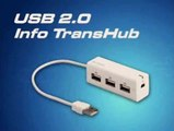 USB 2.0 3-Port HUB with File Transfer - PC to PC