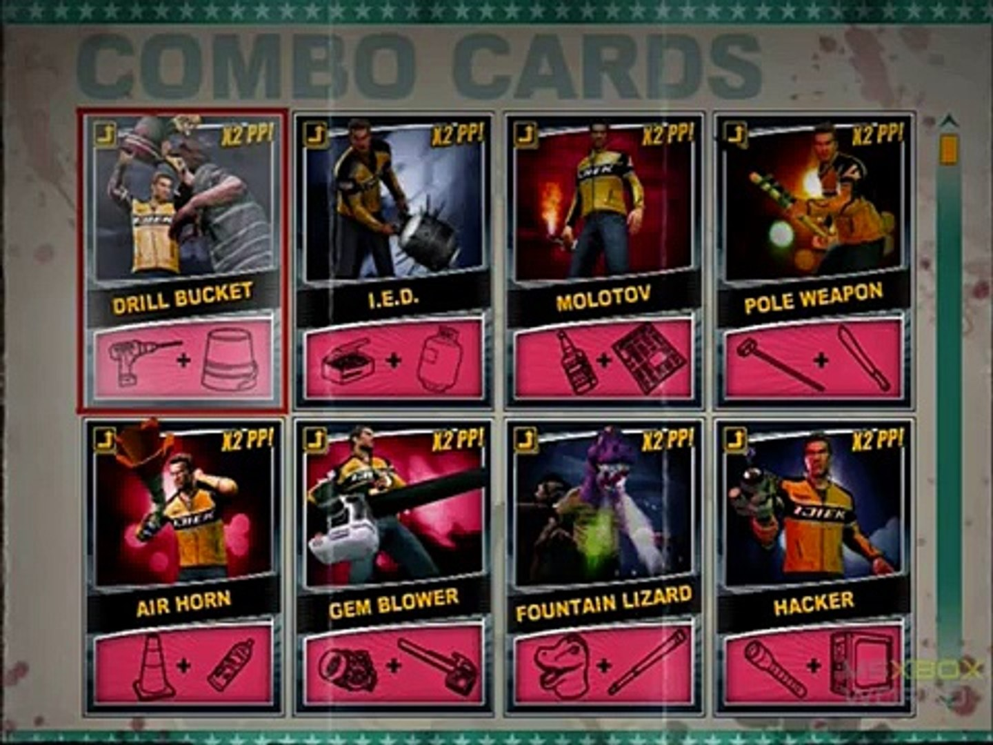 Dead Rising 2 All Combo Cards Video Dailymotion