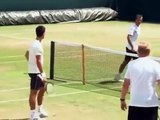 Wimbledon Training 2015 - Djokovic , Federer , Nadal , Murray and others - Wimbledon 2015