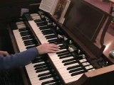 Gospel hammond organ -  Power In The Blood