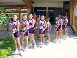 Aerobics Team - Nong Khun Chat School - Nong Chang, Uthai Thani, Thailand