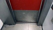 old Asea (mod. by: Magnussons Hiss) traction elevator @ Huddinge Sjukhus, Huddinge, Sweden.