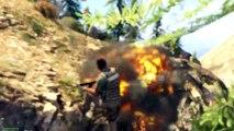 GTA 5 PC Mods San Andreas Mod Dwayne Johnson Funny Moments GTA V The Rock Mod Tsunami 60FPS