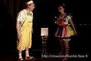 Clown magicien magic act Toulon, Spectacles clowns vaucluse 84, clown nice 06, var 83 et BDR PACA