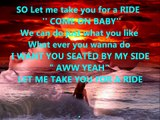 JOEY MCINTYRE/LET ME TAKE YOU FOR A RIDE/WITH LYRICS