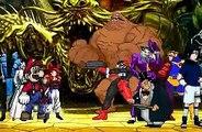 Street fighter vs marvel vs naruto vs Bleach vs nintendo vs Dragon ball z vs mortal kombat vs DC