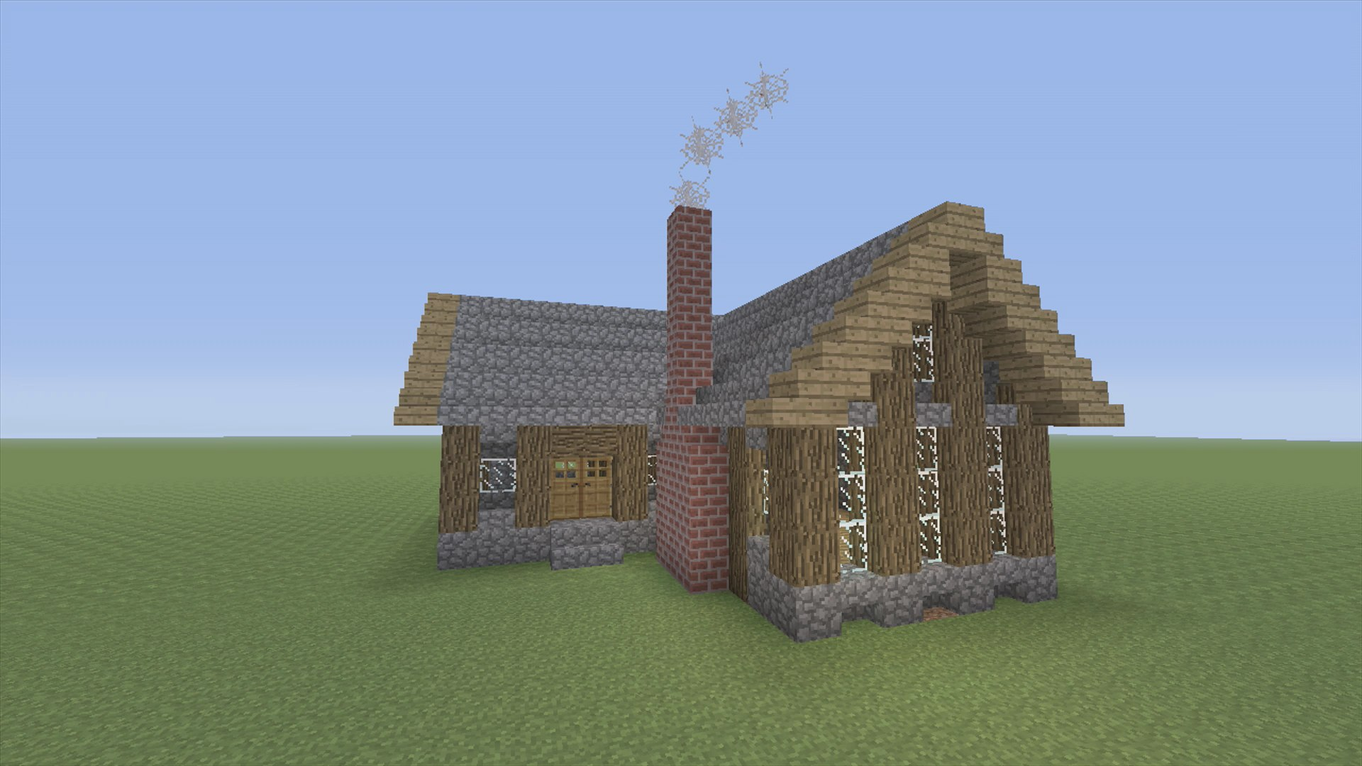 How To Build A Survival House In Minecraft