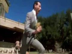 PEE WEE HERMAN AND VANCE RUN WITH ULTRA FITTING MU