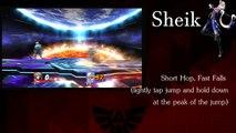 Super Smash Bros WiiU Complete Tutorial/Guide/Tips & Tricks: Sheik