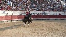 MEJANES EN CAMARGUE CORRIDA DE REJON D OR  2015 PABLO HERNOSO DE MENDOZA