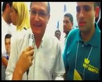 Ligação do PSDB de Serra com o PCC: Alckmin com Ney Santos um líderes do PCC!
