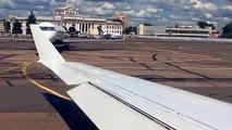 Video CRJ-100 takeoff from Minsk-1