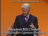 President Bill Clinton on Political Disagreement