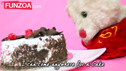I Can Go Anywhere For A Cake, Funny Cake Song