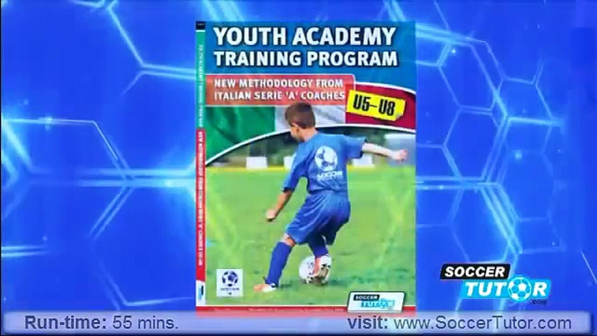 Youth Academy Training Program U5-8 DVD - New Methodology From Italian  Serie 'A' Coaches