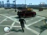 GTA 4 PC Extreme crashes mod and super taxi mod