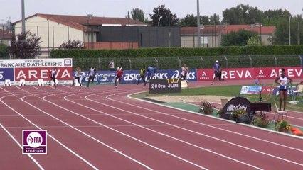 Finale 200 m Juniors Garçons