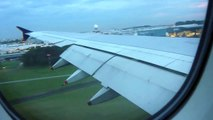 SINGAPORE AIRLINES A380 SQ317 LHR TO SINGAPORE CHANGI AIRPORT LANDING 2012