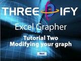 ThreeDify Excel Grapher Tutorial 2.1:  Modifying Your 3D Graph