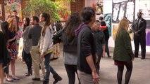 Watch The Kool-Aid Man Burst Through A Wall At An Art Gallery