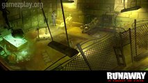 Runaway - A Twist of Fate video game on PC and Nintendo DS screenshots