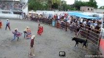 GRAN CORRIDA DE TOROS FIESTA TAURINA VAQUILLA EN EL JARIPEO ZACATEPEC MEXICO TOREROS AFICIONADOS HACEN UN BUEN ESPECTACULO JULIO 2015