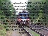 Zast. Troubsko a parní vlak, který nemohl jet včas, i kdyby nebyla výluka; 22. 9. 2012