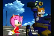 Sonic Adventure 2 Battle pt 2 Amy Doesnt Know Who's Sonic