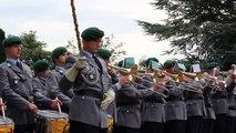 Hymne allemand joué par la Musique de la Bundeswehr de Siegburg