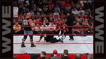 Brock Lesnar attacks -Stone Cold- Steve Austin