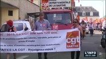Retraite et indemnités chômage : Manifestation au Mans