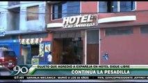 Huamanga: Así fue el ataque del hijo de exregidor a su pareja