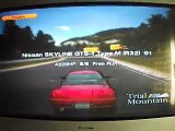 Gran Turismo 4, Nissan Skyline Type M '91 drifting on Trial Mountain
