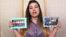 Makeup Geek foiled eyeshadows tutorial and how to use
